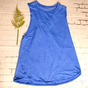Lululemon Size S? Tank Top Blue Exc Cond